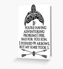 Arrowborn Greeting Card