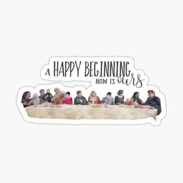 Il était une fois - Happy Dinner Beginning Sticker