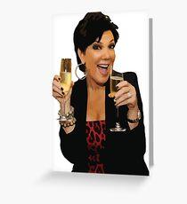 Kris Jenner Grußkarte