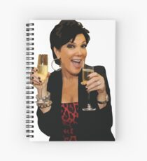Kris Jenner Spiral Notebook