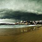 Freshwater Storm, Northern Beaches by Matt  Lauder