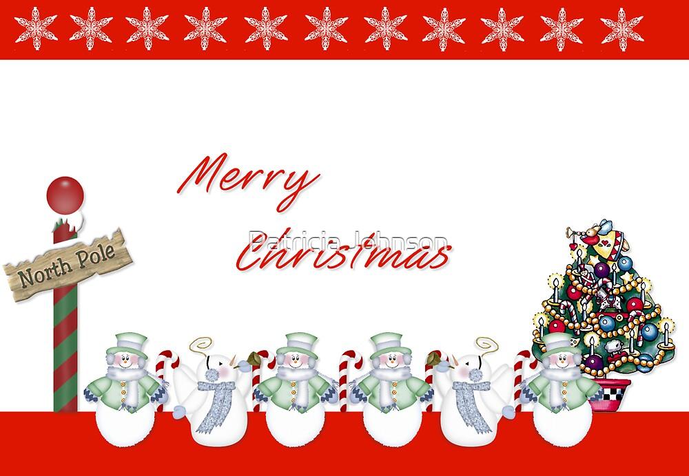 Merry Christmas by Patricia Johnson