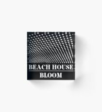 Beach House Acrylic Block