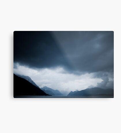 behind the clouds II Metal Print
