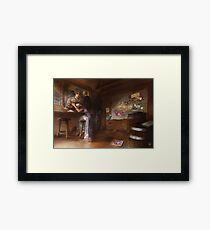 Bounty Hunters Framed Print