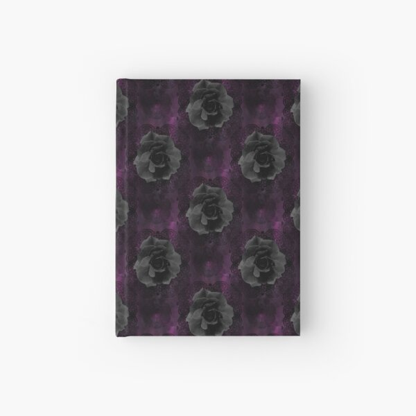 Black Roses Hardcover Journal