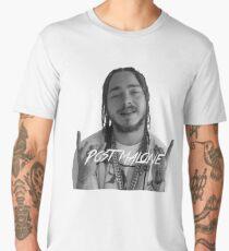 Post Malone black/white Men's Premium T-Shirt