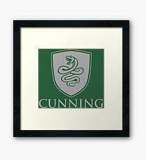 CUNNING Framed Print