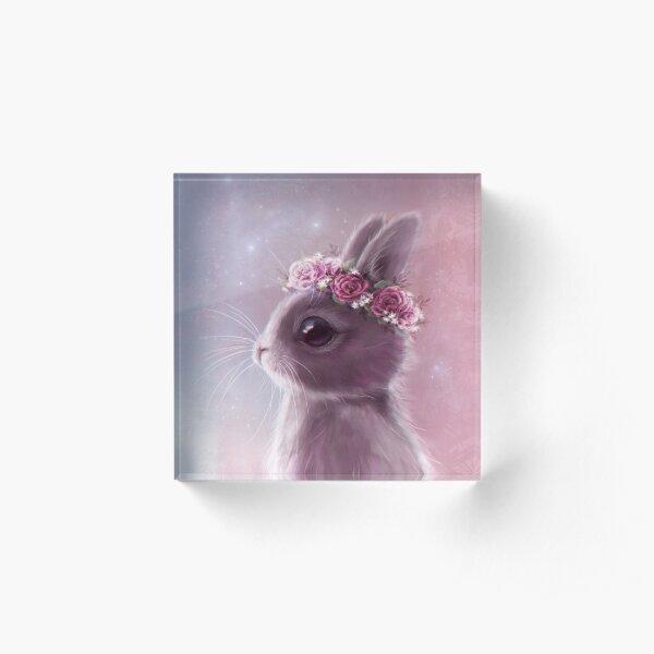 Fairy bunny Acrylic Block