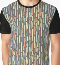 Saul Bass-Inspired Midcentury Rectangles Graphic T-Shirt