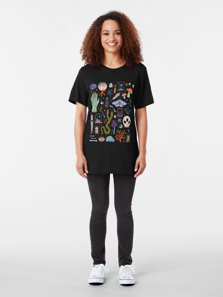 Alternate view of Curiosities Slim Fit T-Shirt