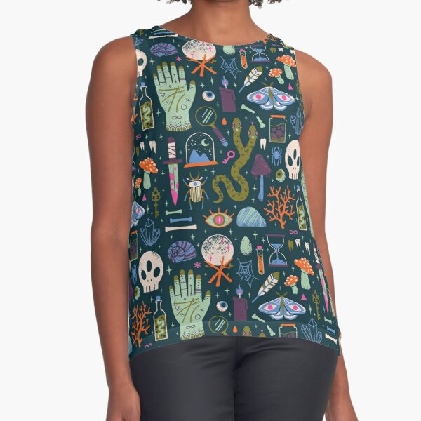 Curiosities Sleeveless Top