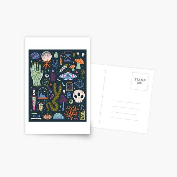 Curiosités Carte postale