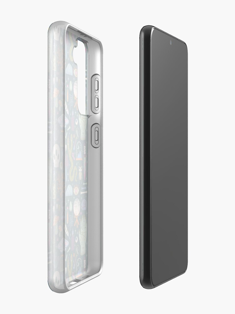 Alternate view of Curiosities Case & Skin for Samsung Galaxy