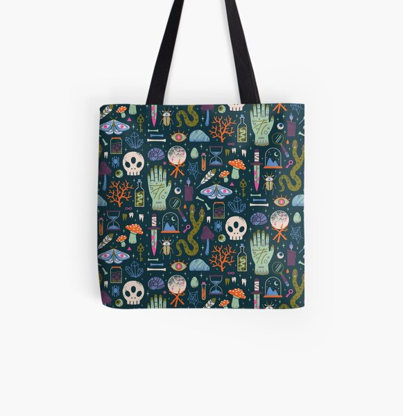 Curiosities All Over Print Tote Bag