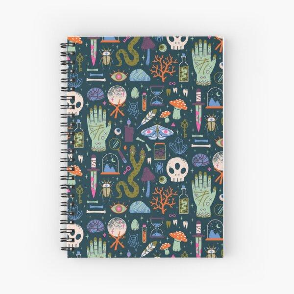 Curiosities Spiral Notebook