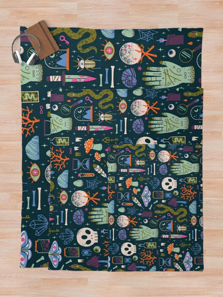 Alternate view of Curiosities Throw Blanket