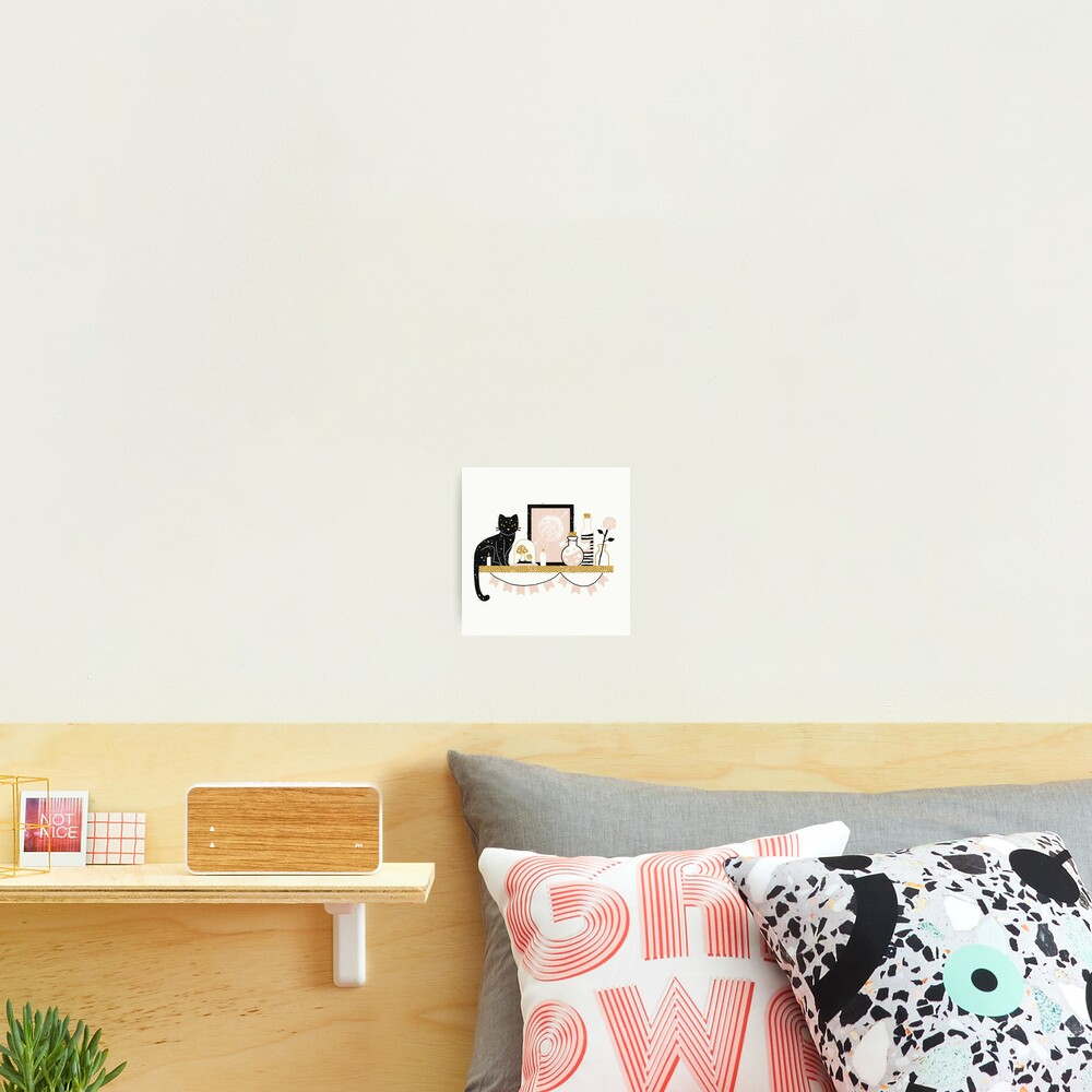 Magical Little Shelf Photographic Print