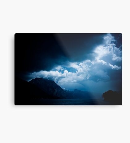 behind the clouds III Metal Print