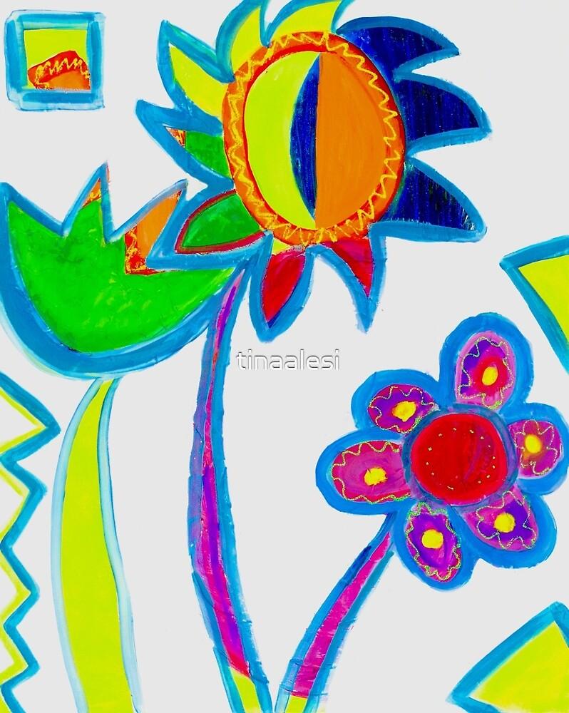 Ok my three flowers by tinaalesi