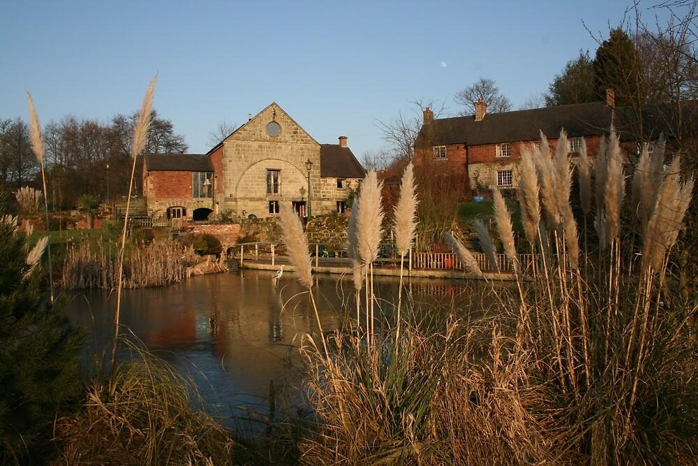 Brailsford Water Mill, Derbyshire by RedHillDigital
