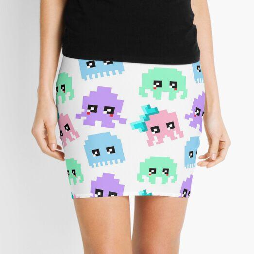 8-bit Cutie Gang Mini Skirt