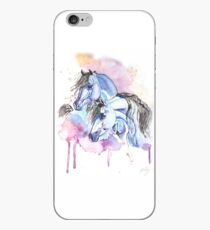 Blue Arabians iPhone Case