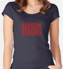 Houston Strong Women's Fitted Scoop T-Shirt