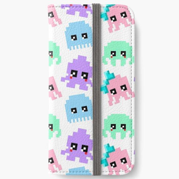 8-bit Cutie Gang iPhone Wallet