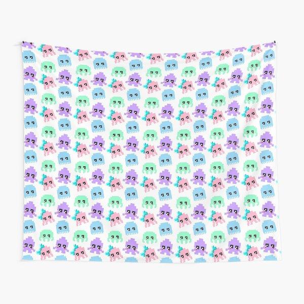 8-bit Cutie Gang Tapestry