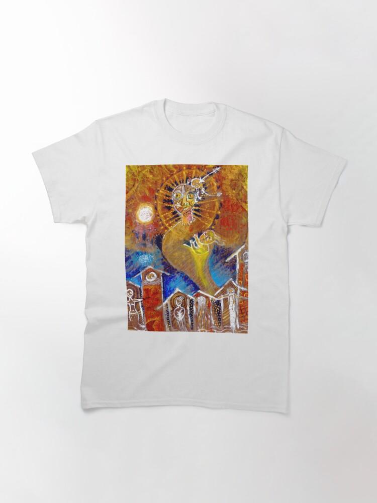 Alternate view of La Ciudad de los Fantasmas Classic T-Shirt