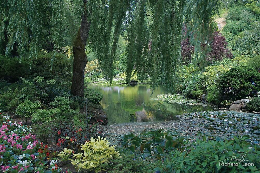 Butchart Gardens  •  Victoria, British Columbia by Richard  Leon