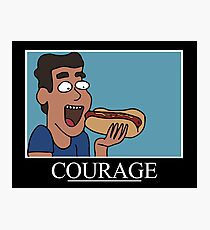 Courage (Rick and Morty) Photographic Print