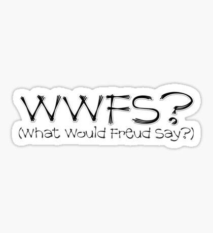WWFS? Sticker