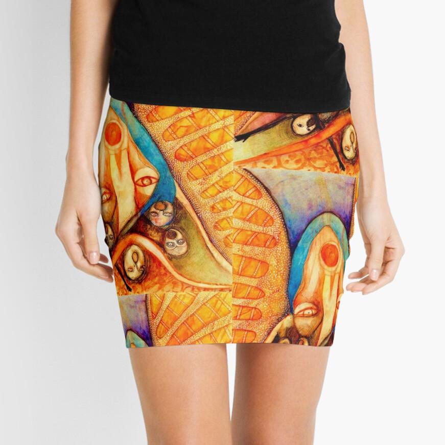 La caida del ángel Mini Skirt