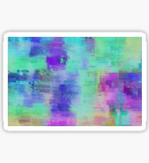 Abstract Aquarelle Sticker