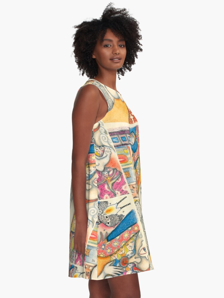 Alternate view of Poetry A-Line Dress