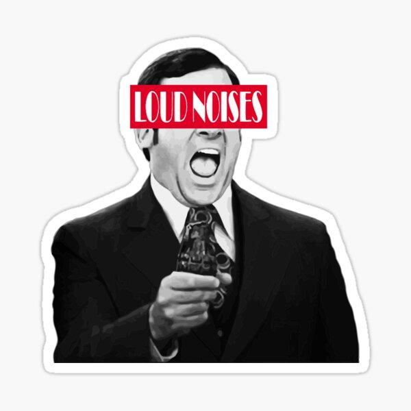 LOUD NOISES - Brick Sticker