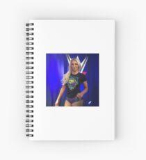 Charlotte Flair stank face Spiral Notebook
