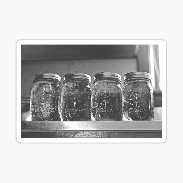 Classic Mason Jars Sticker
