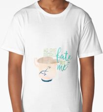 Once Upon A Time - Chipped Cup Quote Long T-Shirt