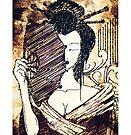 The Geisha - Timeless Enchanting Japanese Art by Denis Marsili