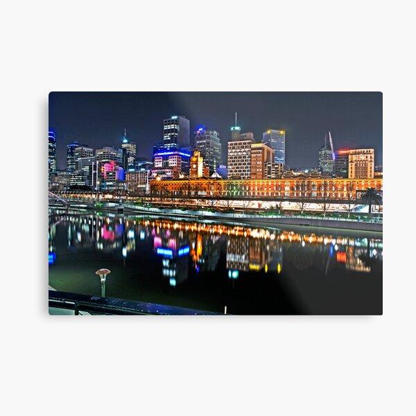 Melbourne Flinders Street Station Metal Print