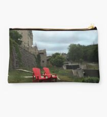 Red Chairs Studio Pouch