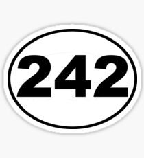Front 242 Band Decal Sticker