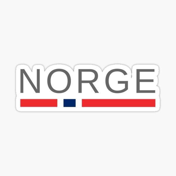 Norge   Norway Sticker