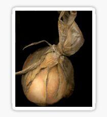 Onion Unwashed Sticker