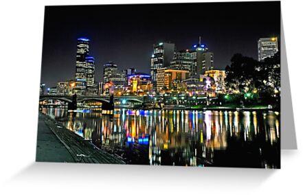 Colorful Melbourne by Ewan Arnolda