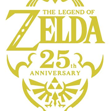 The Legend of Zelda, 25th Anniversary by meltymonster