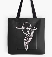Joanne - Lady Gaga Pink Hat illustration Tote Bag